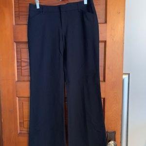 Gap black dress pants.  Size 4 Ankle